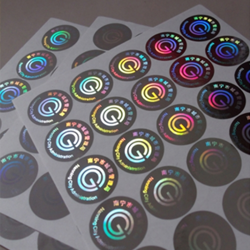 Wholesale High-Tech Anti Counterfeit 3D Hologram Adhesive Stickers