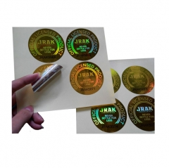 Custom hologram sticker/ hologram label/ sticker label